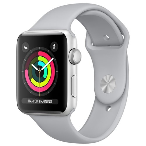 Часы Apple Watch Series 3 38mm Aluminum Case with Sport Band в Зеленокумске