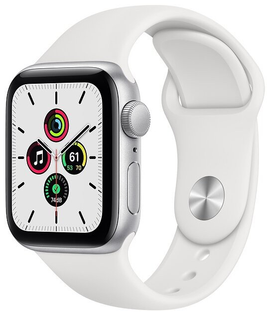 Часы Apple Watch SE GPS 40mm Aluminum Case with Sport Band в Левокумском